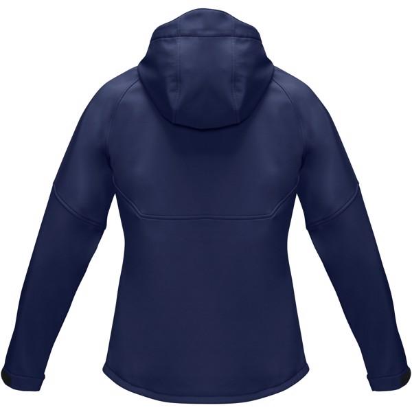 "Chaqueta softshell reciclada para mujer ""Coltan"" - Azul marino / L"