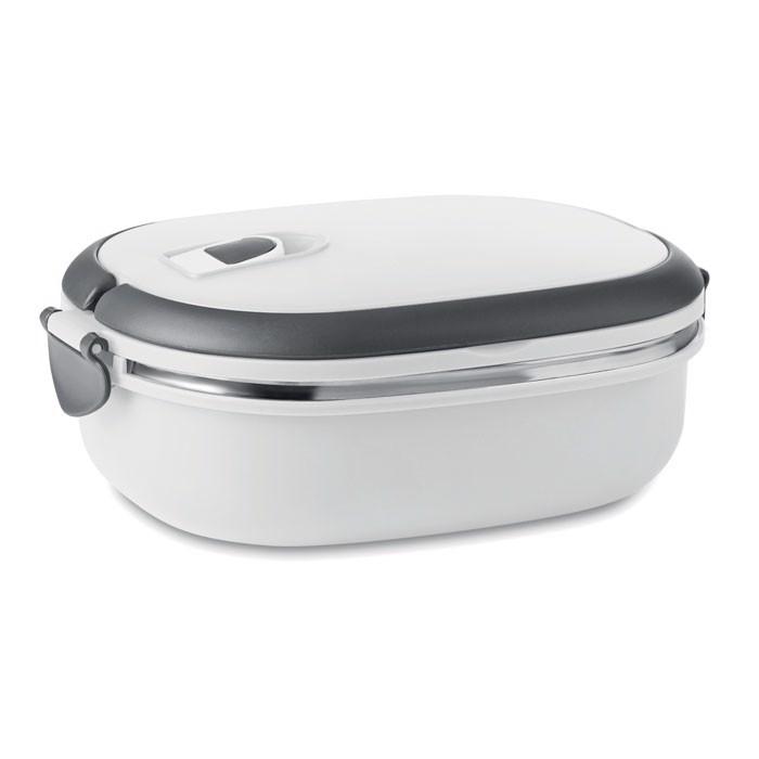 Pojemnik śniadaniowy Delux Lunch - biały