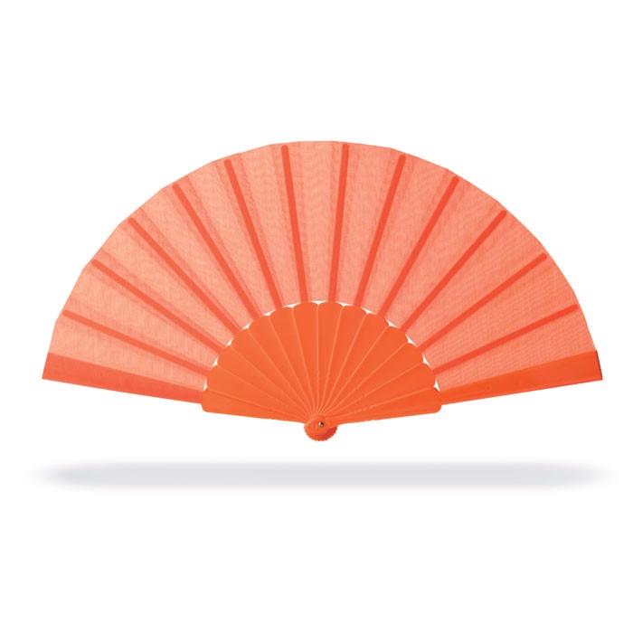 Manual hand fan Fanny - Orange
