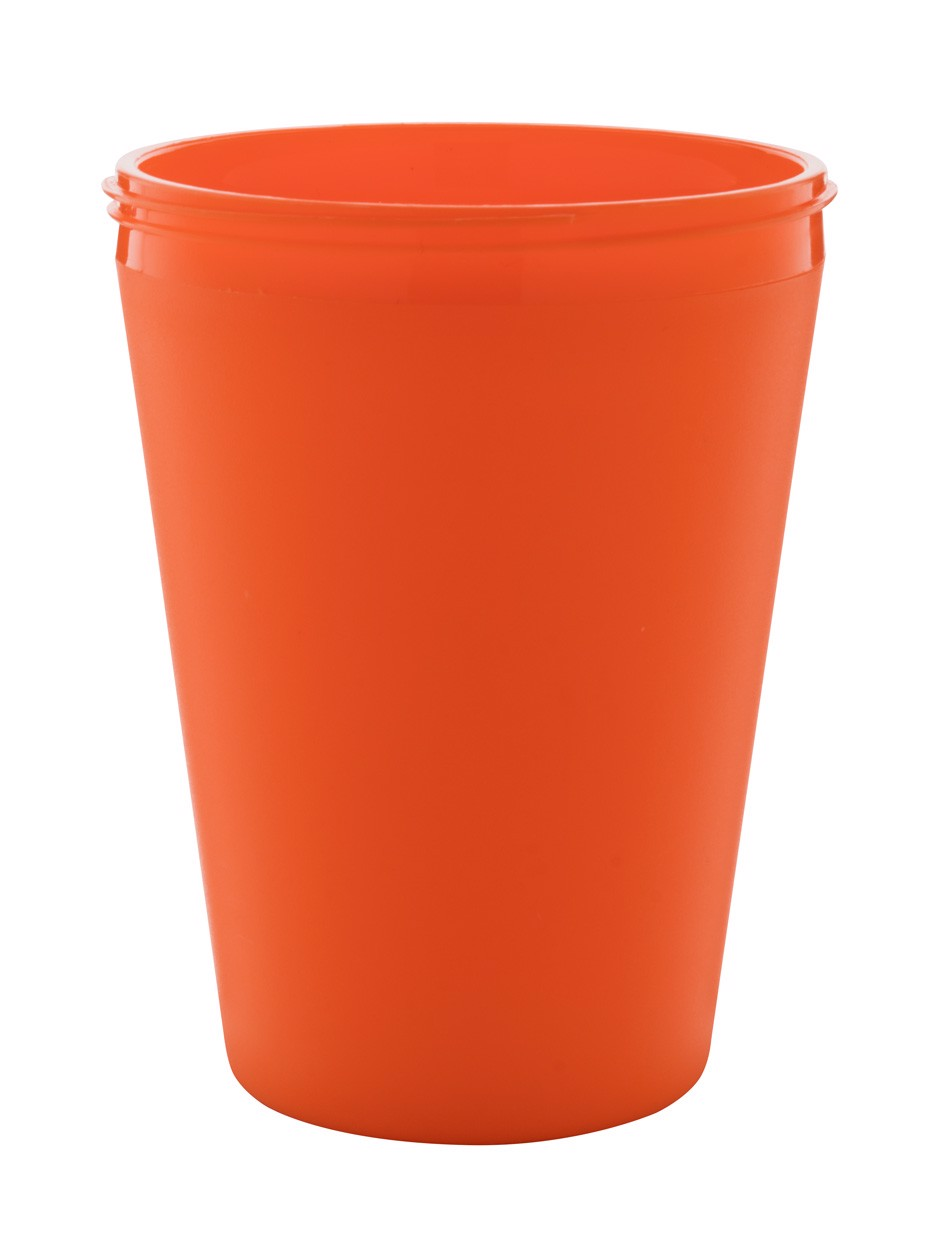 Termo Hrnek Na Zakázku CreaCup Mini - Oranžová / C