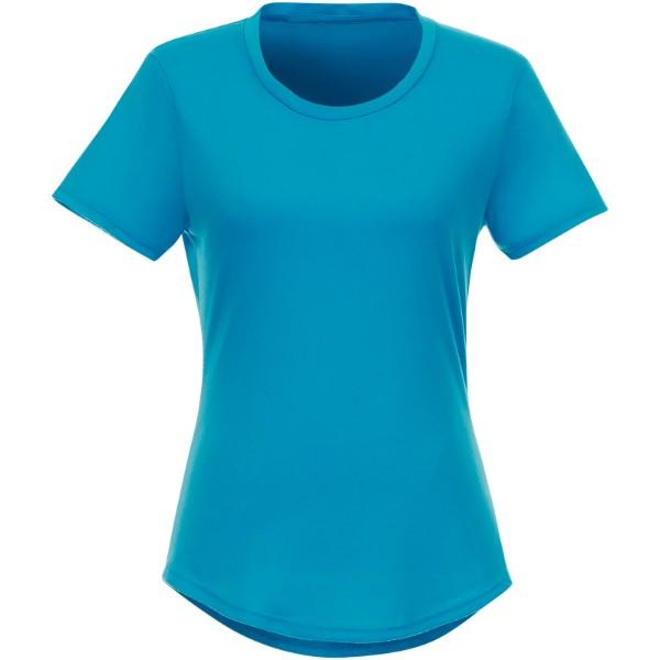 Recyklované dámské tričko s krátkým rukávem Jade - NXT modrá / XXL