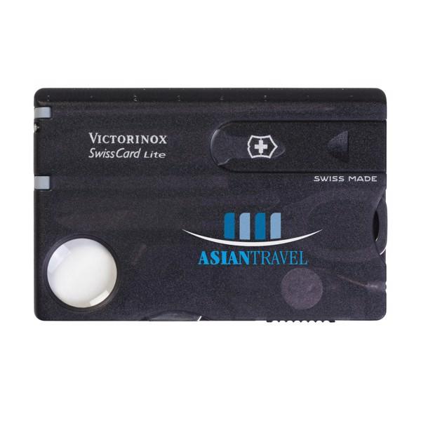 Victorinox Swisscard Lite - Transparent Black