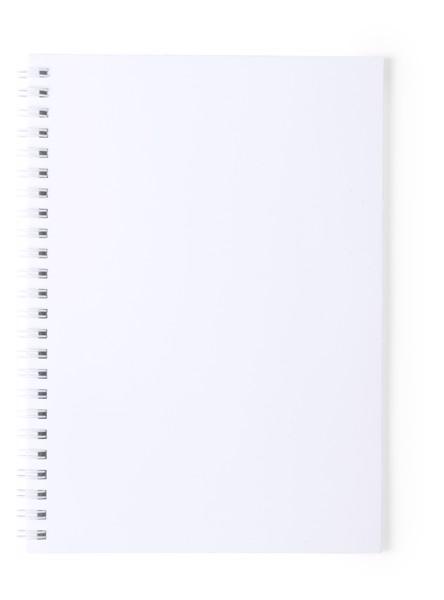 Libreta Antibacteriana Polax - Blanco