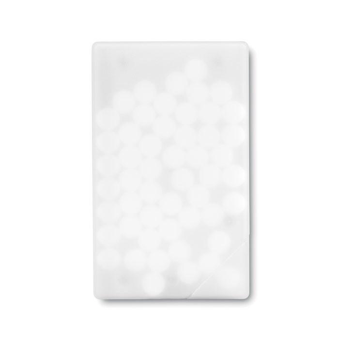 Dávkovač mentolek Mintcard - white