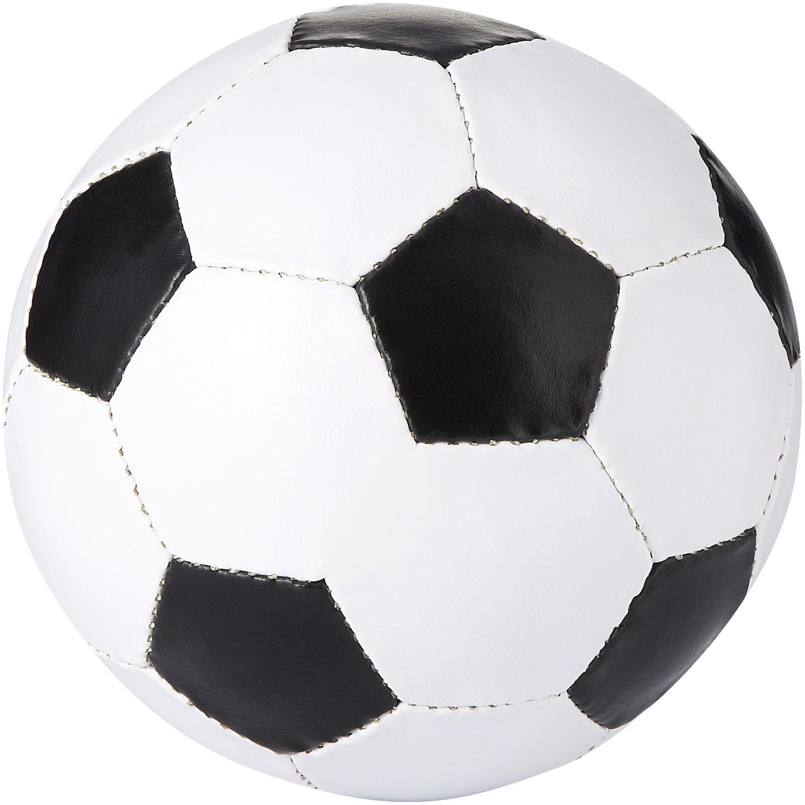 Curve Fußball - schwarz / weiss
