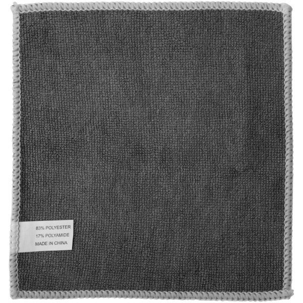 Wiped screen cleaning cloth - Solid black