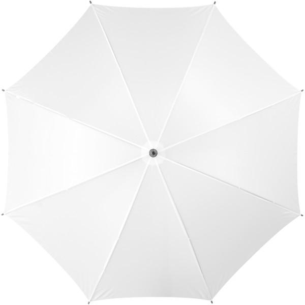 """23"""" klasický deštník Jova s dřevěnou tyčí a rukojetí - Bílá"""