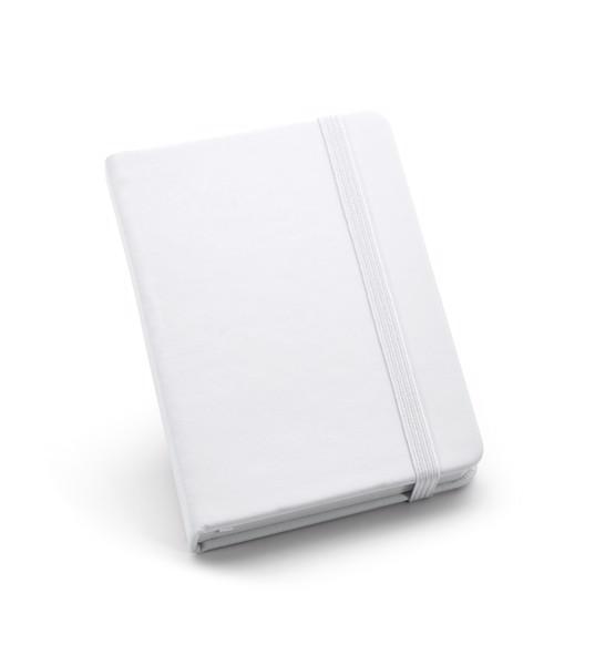 BECKETT. Pocket sized notepad - White