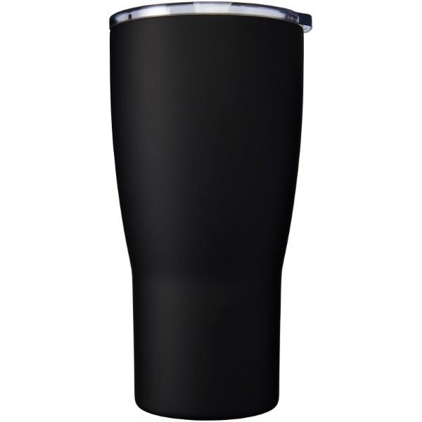 """Vaso con aislamiento de cobre al vacío de 500 ml """"Nordic"""" - Negro Intenso"""