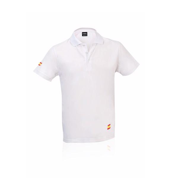 Polo Tecnic Bandera - Blanco / XL