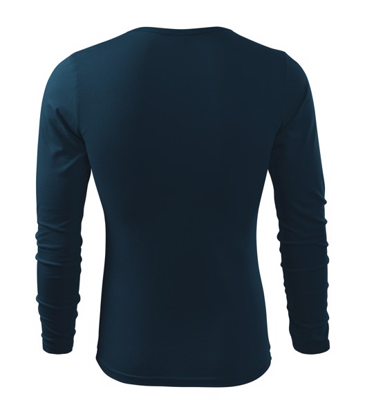 Triko pánské Malfini Fit-T LS - Námořní Modrá / XL