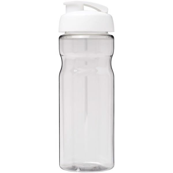 H2O Base® 650 ml flip lid sport bottle - Transparent / White