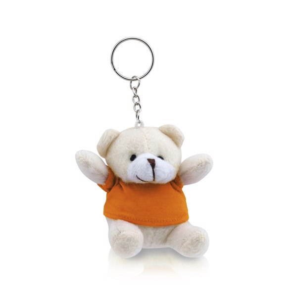 Keyring Teddy Tedchain - Orange