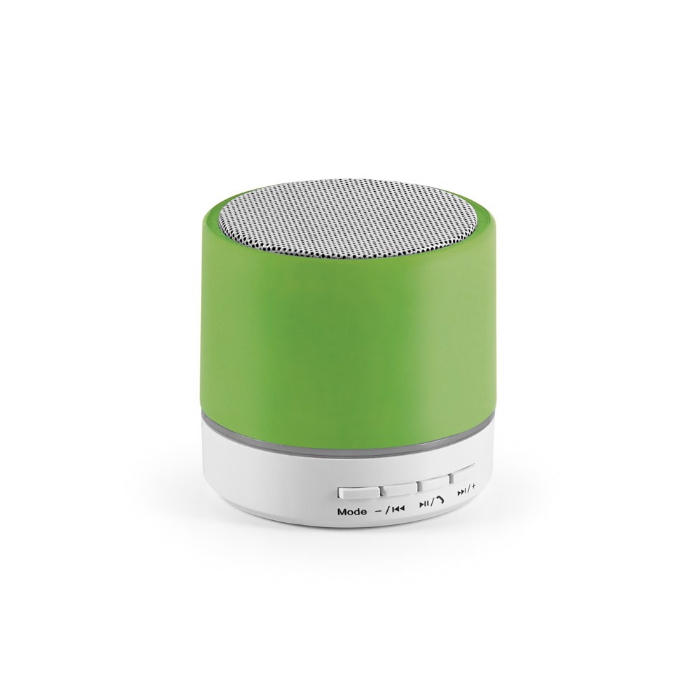 PEREY. Portable speaker with microphone - Light Green