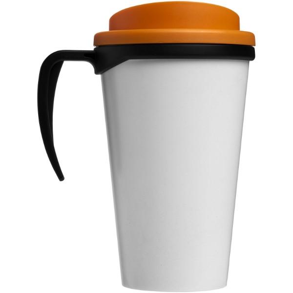 Termo hrnek Brite-Americano® grande 350 ml - Černá / 0ranžová