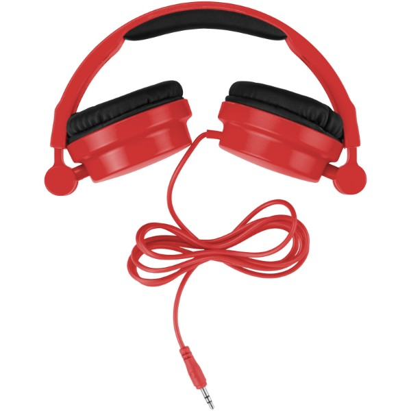 Rally foldable headphones - Red