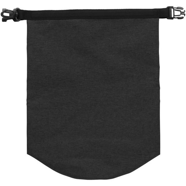 Traveller 5 litre heathered waterproof bag - Charcoal
