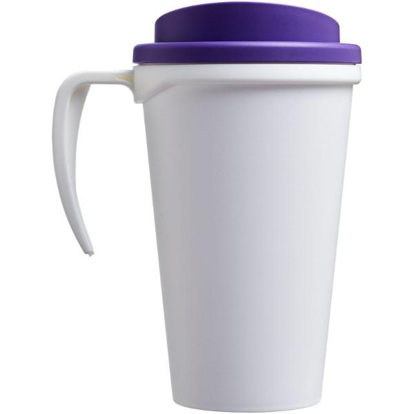 Americano® Vaso térmico grande de 350 ml - Blanco / Morado