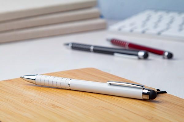 Dotykové Kuličkové Pero Minox - Bílá
