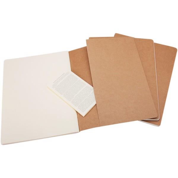 Cahier Journal XL - plain - Kraft brown