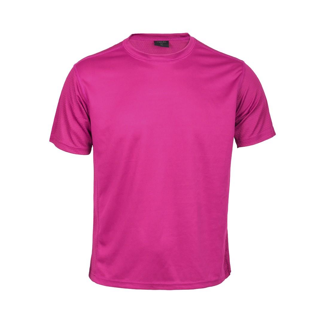 Camiseta Adulto Tecnic Rox - Fucsia / L