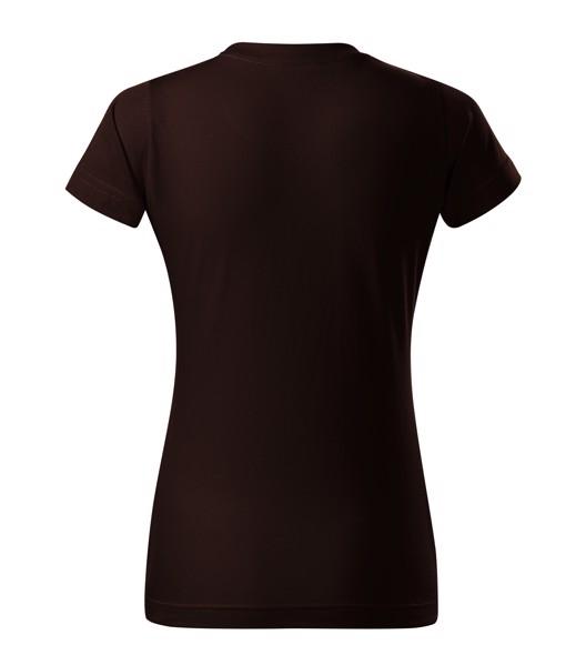 Tričko dámské Malfini Basic - Kávová / L