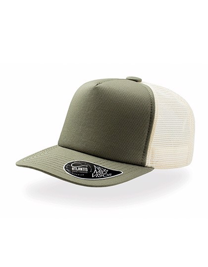 Record - Trucker Cap - Olive / One Size