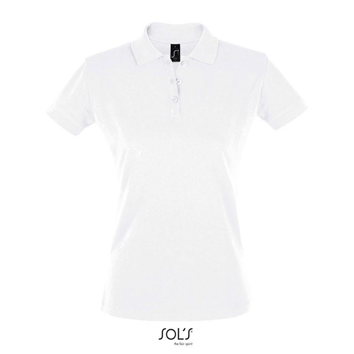 PERFECT POLO MUJER 180g Perfect Women - Blanco / XXL