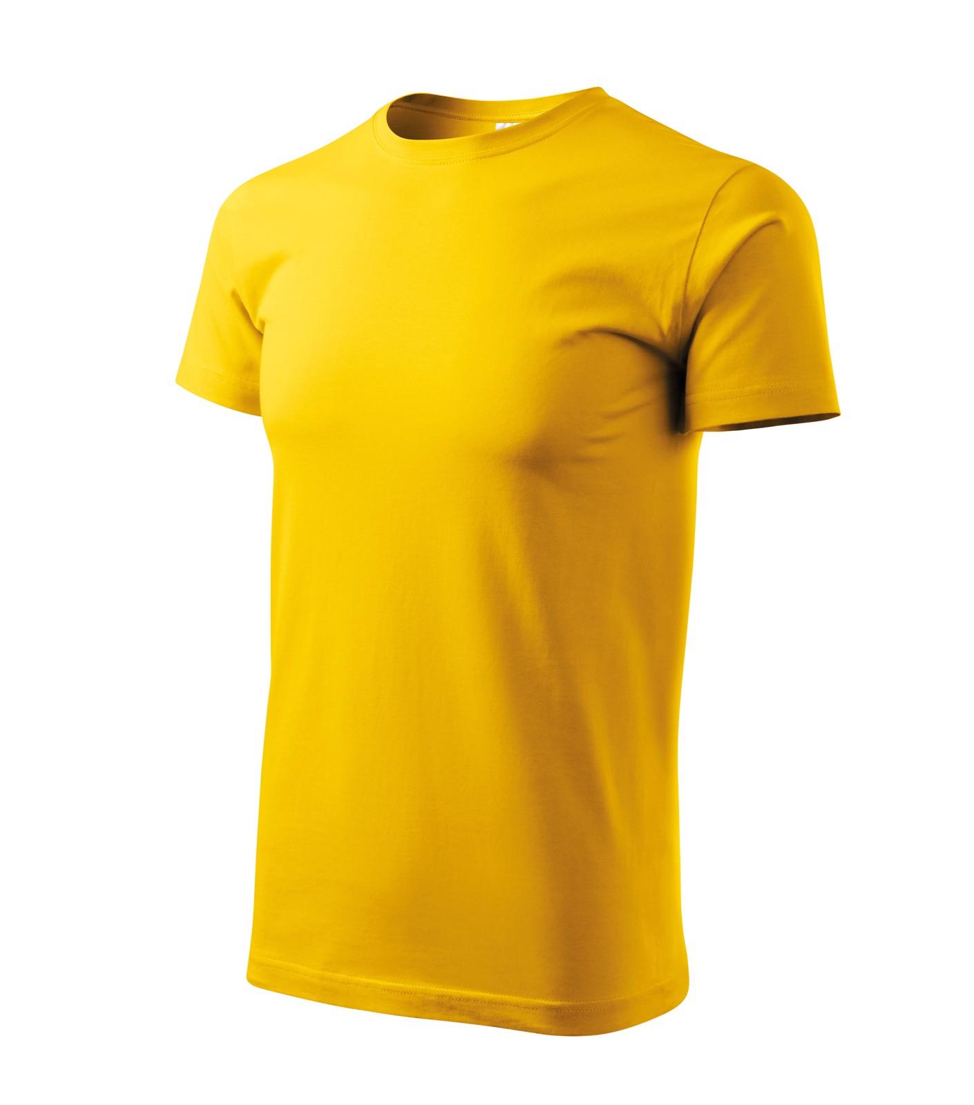 Tričko unisex Malfini Heavy New - Žlutá / 2XL