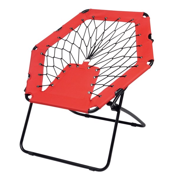 Židle Bungee Chill Out / Černá / Červená
