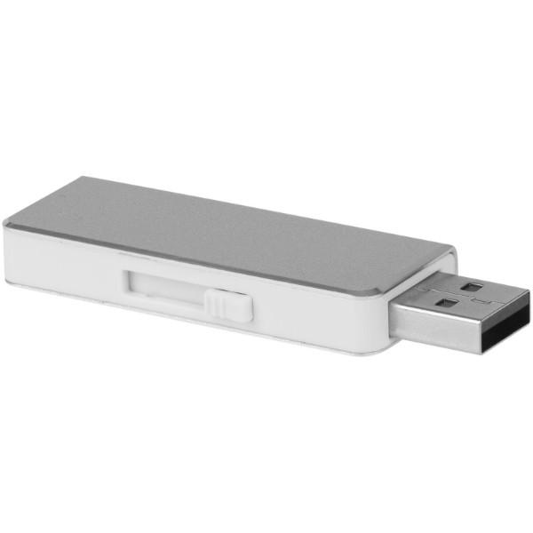 """Memoria USB de 4 GB """"Glide"""" - Plateado"""