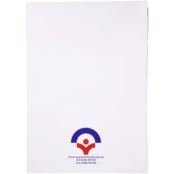 Essential konferenční sada poznámkového bloku A4 a pera - Bílá / Modrá