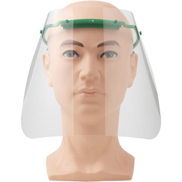 Protective face visor - Medium - Medium green