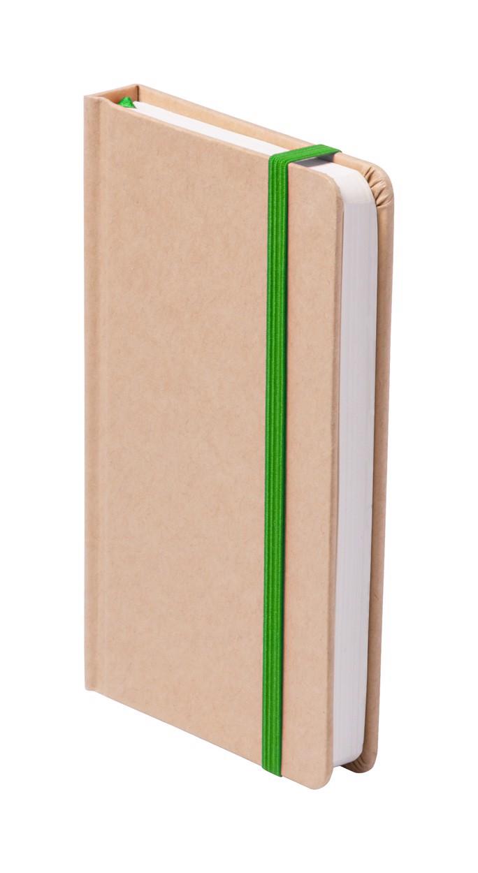 Blok Bosco - Zelená / Přírodní