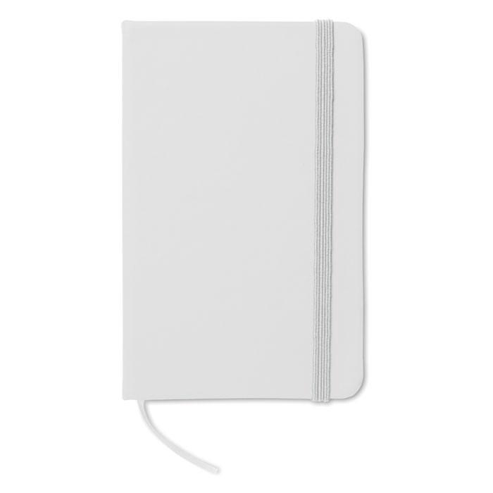 DIN A6 Notizbuch Notelux - weiß