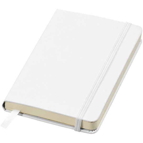 Classic A6 Hard Cover Notizbuch - Weiss