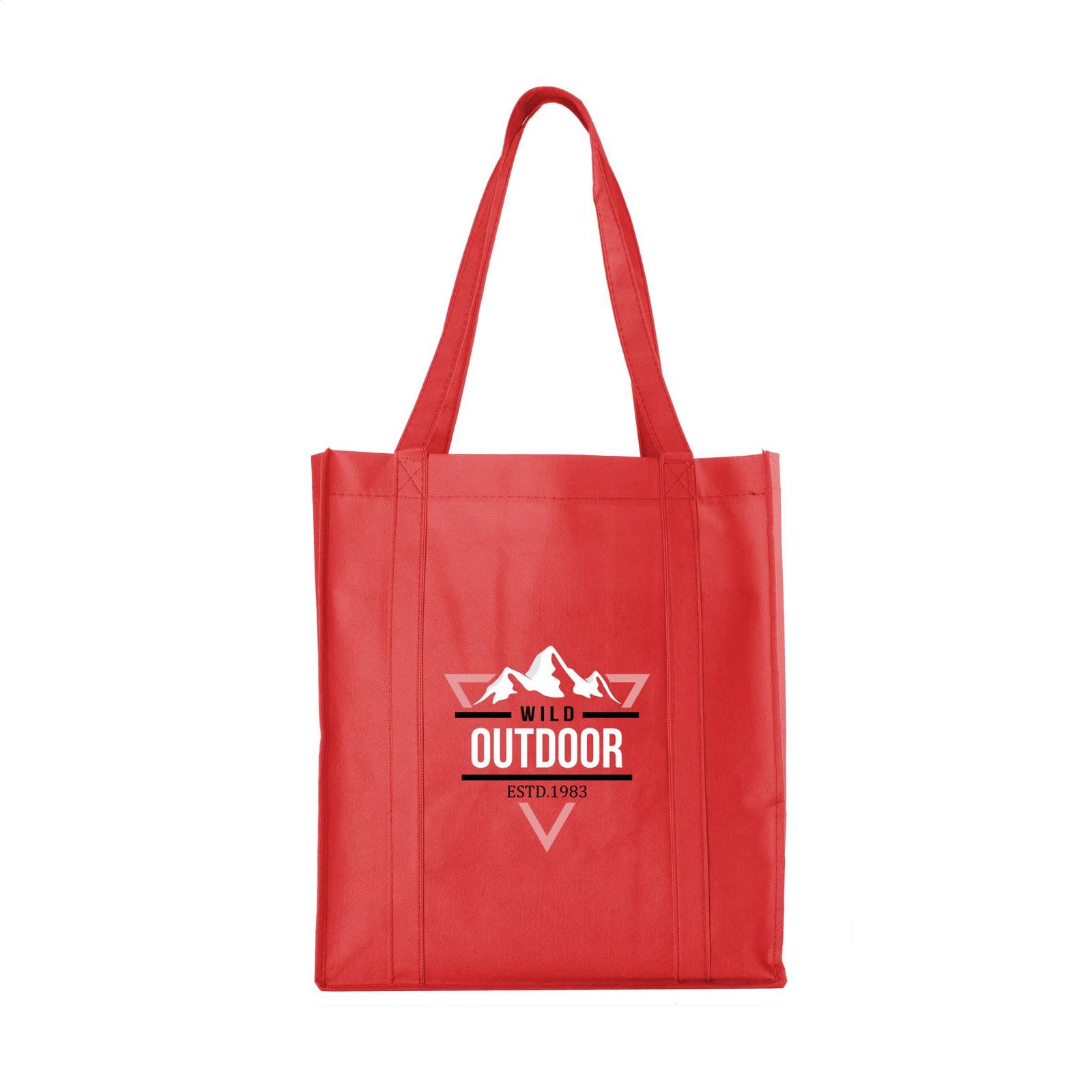 ShopXL Shopping bag - Red