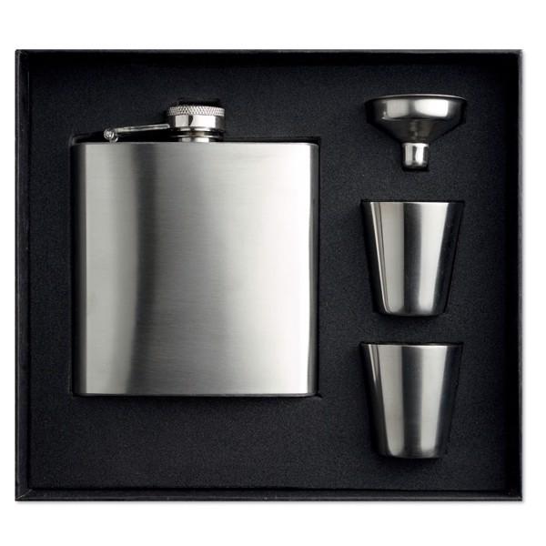 Piersiówka. Slimmy Flask Set