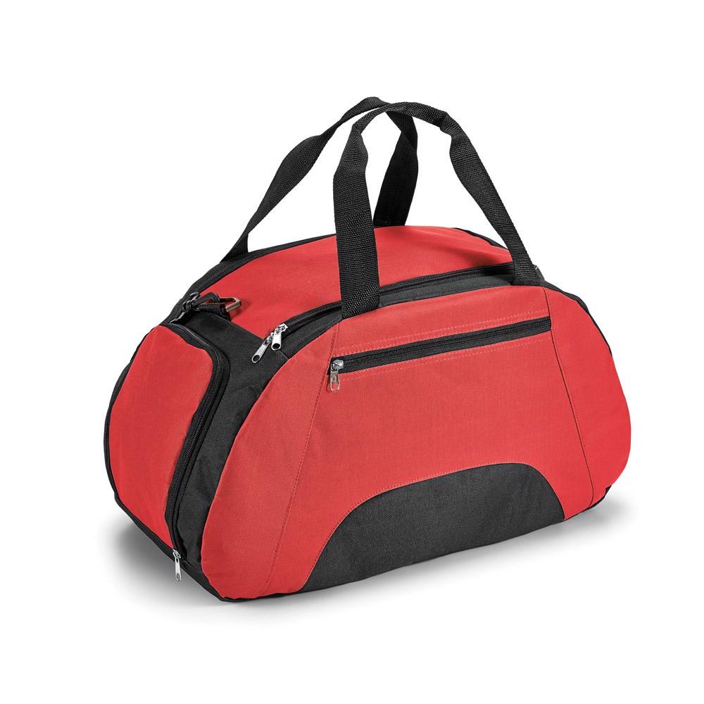 FIT. Sportovní taška 600D - Červená