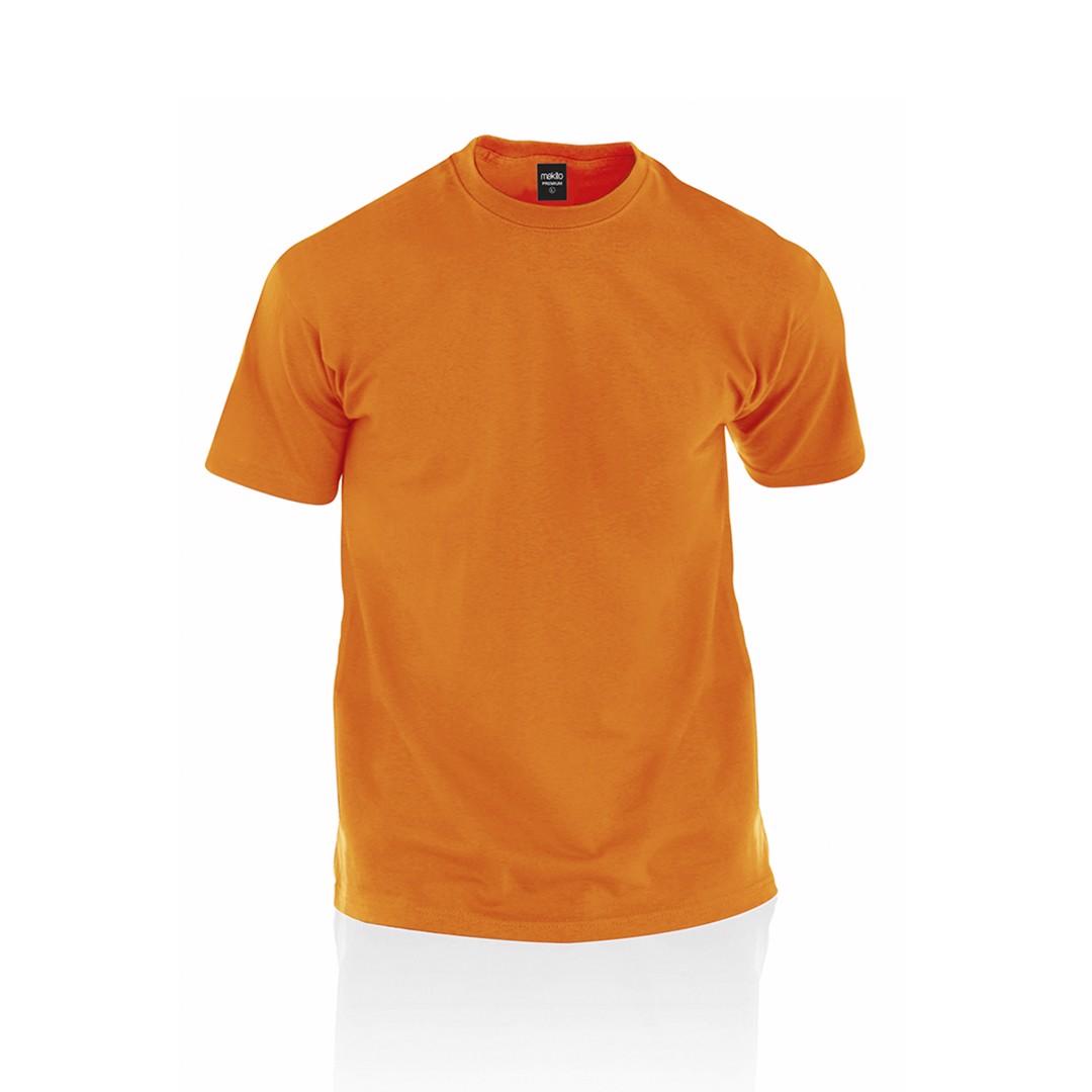 Camiseta Adulto Color Premium - Naranja / S