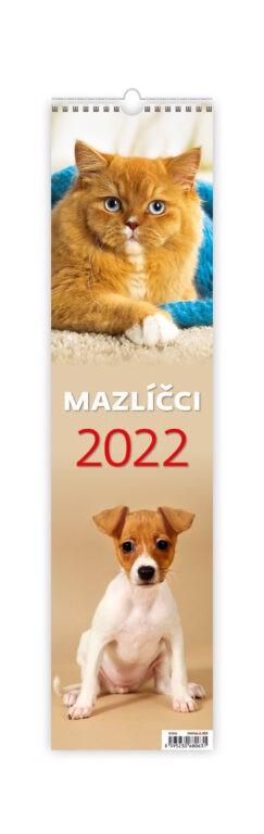 Měsíční kalendář Mazlíčci - vázanka 2022