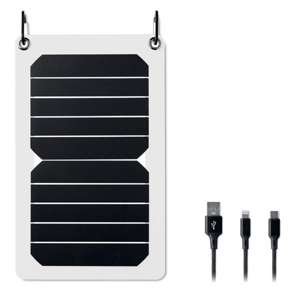 Solar Charger 5.3W output - White