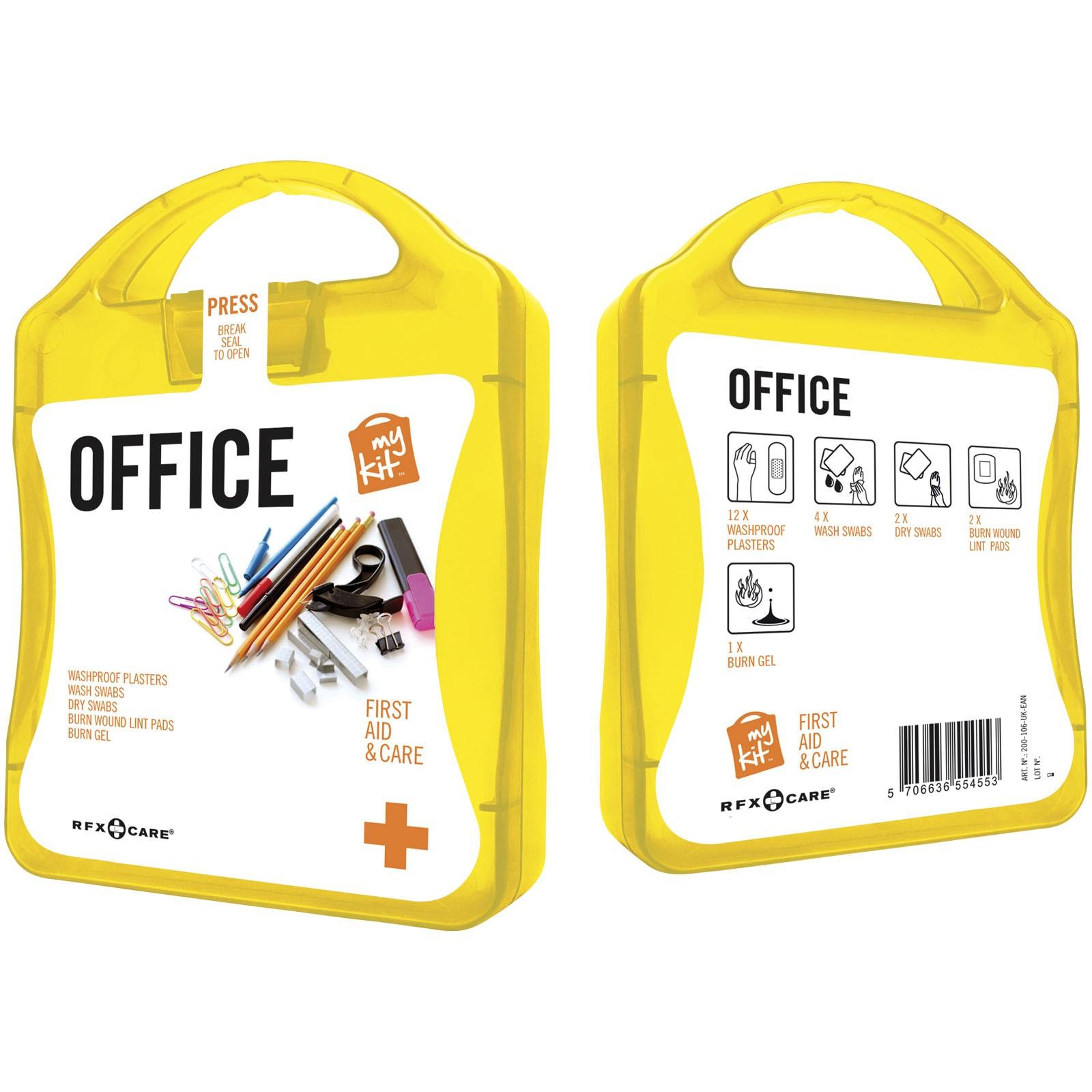 MyKit Office First Aid Kit - Yellow