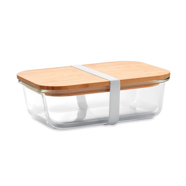 Glass lunchbox with bamboo lid Tundra Lunchbox