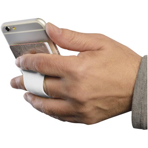 Silikonové pouzdro na kartu k telefonu - Bílá