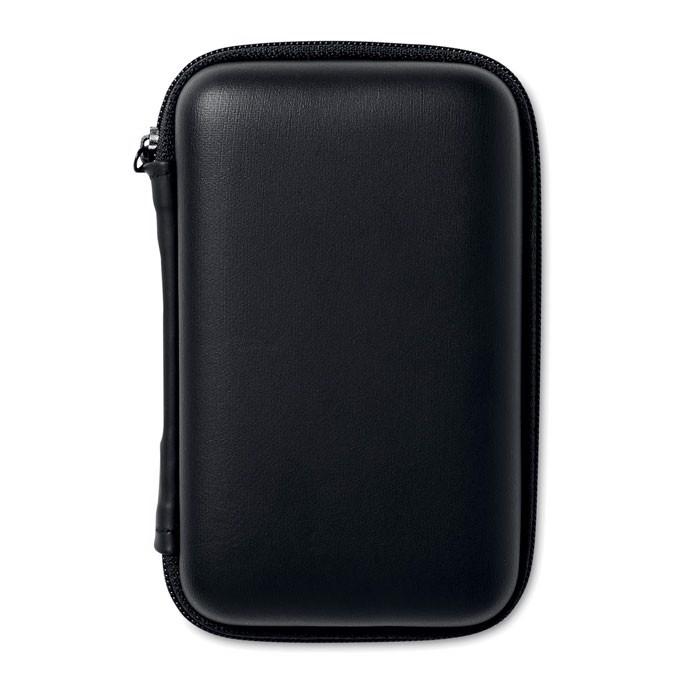Powerbank travel set Superpouch - Black