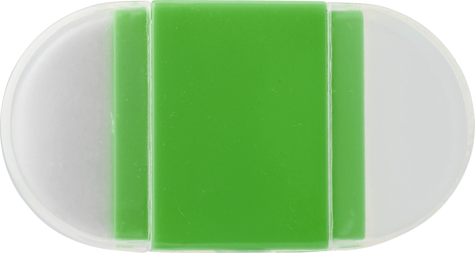 PS pencil sharpener and eraser - Light Green