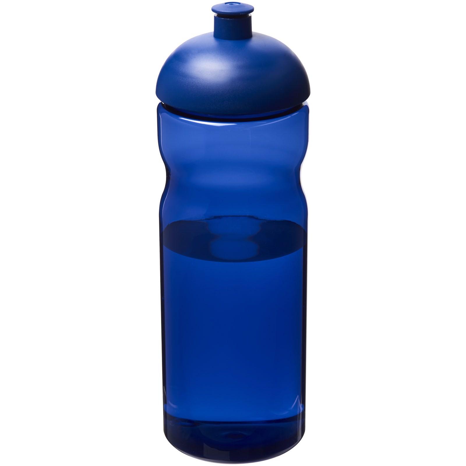 Sportovní láhev s kupolovitým víčkem H2O Eco 650 ml - Modrá