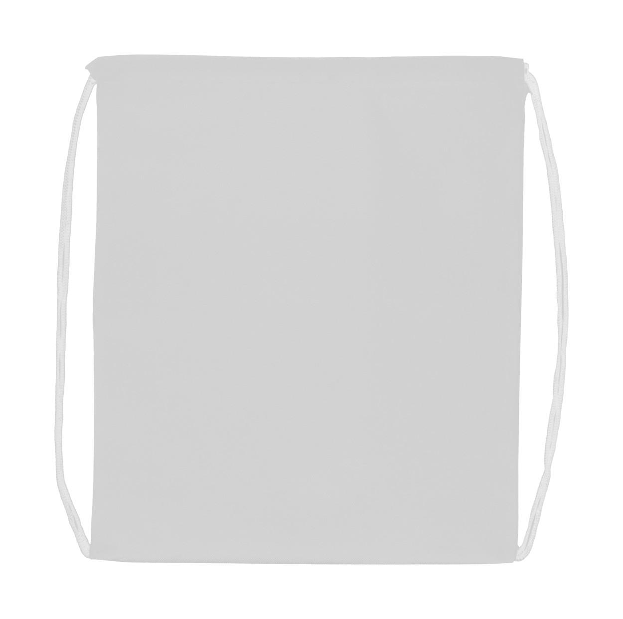 Drawstring Bag Pully - White