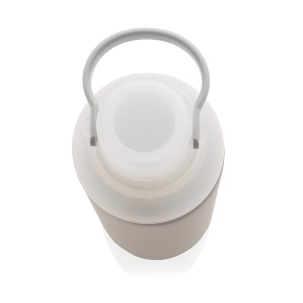 Nepropustná skleněná láhev na vodu - Šedá